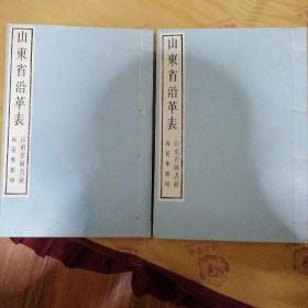 山东省沿革表(影印本)C9