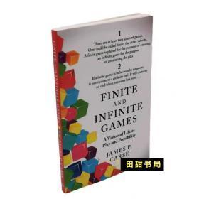 Finite and Infinite Games有限和无限的游戏James Carse英文原版