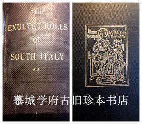 【珂罗版影印】《意大利南部中世纪颂歌手卷》206幅图 MYRTILLA AVERY: THE EXULTET ROLLS OF SOUTH ITALY. II. PLATES. ILLUMINATED MANUSCRIPTS OF THE MIDDLE AGES. A SERIES ISSUED BY THE DEPARTMENT OF ART AND ARCHAEOLOGY