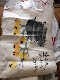 邵锡吾,民国间上海美术专科学校毕业。毕业后任教山东鲁迅美术学院,任教授 小作品 一幅  保真