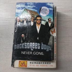 磁带 backstreet boys never gone