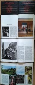 "《MEMORIAL DE NOTRE TEMPS》1961、63、64、65、67、69,一共6本1200多页,12开精装法文书、法国正版 (看图)。8公斤法国HACHETTE出版社出版的一套记忆60年代的法国,6本,每本依靠图片及文字分几个方面""记忆""一年的法国:政治、科技、文艺、社会、体育等。"