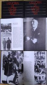 "《MEMORIAL DE NOTRE TEMPS》1939、1940、41、42、46、47、48,1000多页,12开精装法文书、法国正版 (看图)。7公斤多巴黎HACHETTE出版社出版的一套记忆30、40年代的法国,一共7本,每本依靠图片及文字分几个方面""记忆""一年的法国:政治、科技、文艺、社会、体育等。"