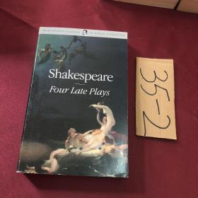 shakespeare four late plays