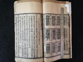 A大开本木刻古籍 《玉匣记》 一册