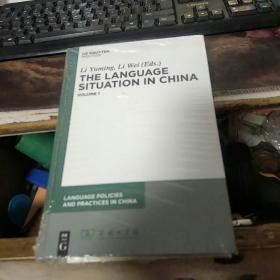【英文原版】The Language Situation in China: Volume 1 有包装