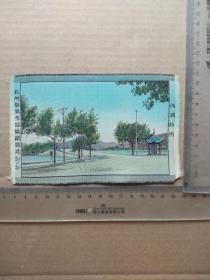 早期杭州都锦生丝织厂制,杭州西湖,尺寸图为准