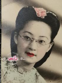 民国旗袍美女(知识范儿,照片虽小,但尽显民国风)