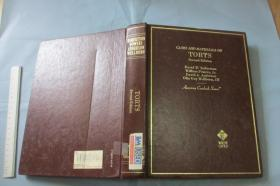 Cases and Materials on  The Law of Torts【英文原版 硬精装 大16开666页 版本罕见 】