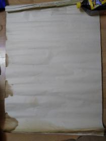 老宣纸  老纸头 48张 品相如图 年代不详 不懂这玩意