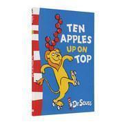 全新正版苏斯博士绘本 英文原版 Ten Apples Up on Top 头顶十个苹果 Dr. Seuss 进口童书 全彩故事书 儿童英语启蒙 平装 Paperback