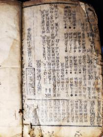 清刻本.新鐫历法便览像吉备要通书  卷之十五~二十.3本合订