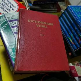 dictionnaire vidal 1977
