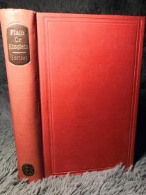 PLAIN OR RINGLETS  瑟蒂斯乡间风情小说《素发与卷发》   含 JOHN LEECH 12副精美插图