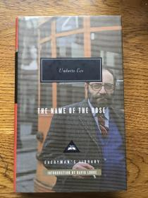 The name of the rose 玫瑰的名字 Umberto Eco 翁贝托·埃科 Everyman's Library 人人文库