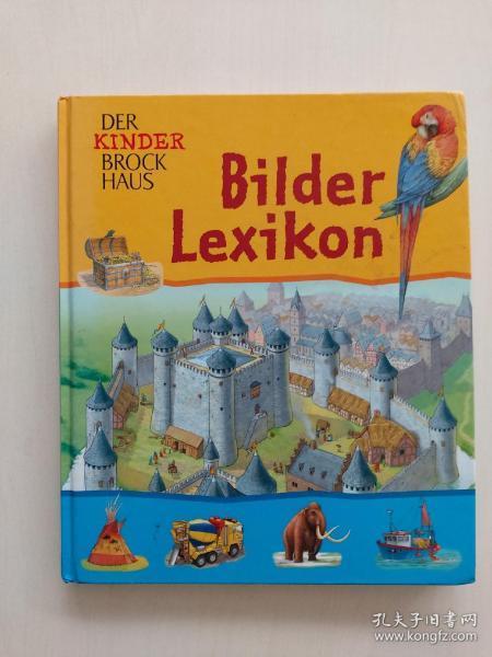 Bilder Lexikon 德语儿童图解词典
