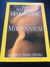 VOL.193,NO.1 JANUARY 1998 NATIONAL GEOGRAPHIC  MAKING SENSE OF THE MILLENNIUM(美国国家地理  1998  1 理解千禧年  )