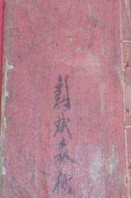 茅山医家大法全宗 清代道家符咒茅山手抄本  法术秘本师傅秘授