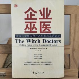 企业巫医:对当代管理大师与思想最权威的评述