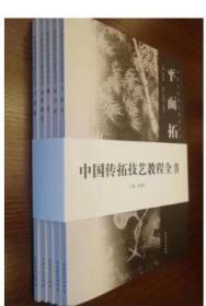 《中国传拓技艺教程全书(全五册)》另荐 金石传拓的审美与实践 技法 图典 概说 全形 平面 颖 综合 鱼 高浮雕拓 周佩珠