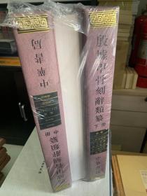 殷墟甲骨刻辞类纂(全三册)