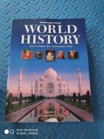 World History: Patterns of Interaction(16开英文 彩色内页)