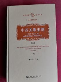 中苏关系史纲:1917-1991年中苏关系若干问题再探讨 下册