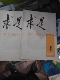 求是创刊号两本。两本品相不一样,一本好,一本上面有字差一点。保真包老,售出不退.标的是两本一起的价格。