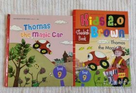 Thomas the Magic9 Car Kids2.0布朗儿童英语 含盘 儿童英文精装绘本 2本