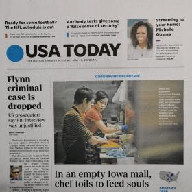 USA TODAY原版英文报纸