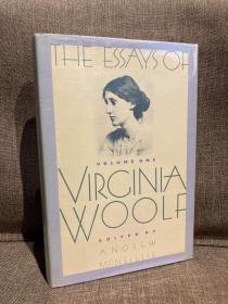 The Essays of Virginia Woolf(《伍尔夫随笔全集》卷一,精装大开本,布脊精装,带护封,品相一流,1986年美国初版)