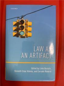 Law as an Artifact (法律之为人工制品)研究文集