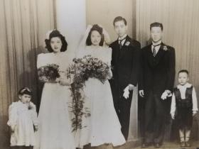 民国美女结婚照片