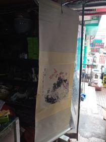 囯画,署名寒汀,好多年前收的,装裱和构图都不错,不知出自何人之手,保纯手绘,其他的不包,喜欢的来买,售出不退。