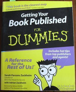 GettingYourBookPublishedForDummies