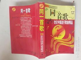 同一首歌20世纪中国流行歌曲精品