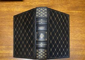 真皮精装 , Easton   出版,书口三面刷金(  22k黄金) , 能保存数百年的存档级别的无酸纸