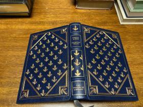 Henry James Selected Tales 真皮精装 ,  Franklin 出版, 书口三面刷金(   22k黄金) , 能保存数百年的存档级别的无酸纸