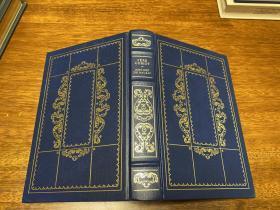 Honore de Balzac   Pere Goriot  仿皮精装 , Franklin 出版,书口三面刷金(  22k黄金) , 能保存数百年的存档级别的无酸纸