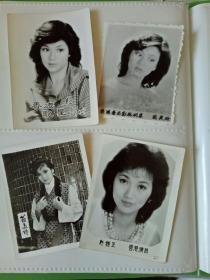 翁美玲赵雅芝余安安米雪林青霞张瑜景黛音17张黑白照片合售如图