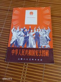 《难得的红色文献:中华人民共和国宪法图解(精美连环画插图本)》(上海人民美术出版社 编绘,1978年一版一印)