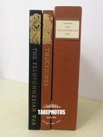 The History of The Peloponnesian War 《 伯罗奔尼撒战争史》Thucydides 修昔底德 国际关系史学经典  Limited Edition Club 2000本精装限量版 全两卷 编号 971 画家签名版