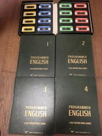 PROGRAMMED ENGLISH A SELF-INSTRUCTIONAL COURSE(1 2 3 4)(含磁带)