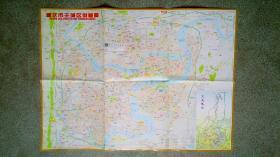 旧地图-重庆市主城区街道图(五洲大酒店)4开8品