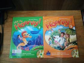 Hip Hip Hooray!  Student Book 4 and 5( 有光盘,2本合售)