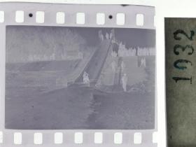 纪实摄影底片1张 童趣 滑冰刀、冰车、冰滑梯系列57