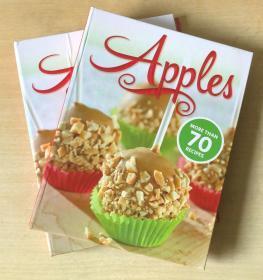 APPLES 70种食谱 英文美食菜谱烹饪制作技巧及方法【精装本 128页】