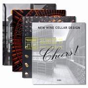全新正版现货 CHEERS! NEW WINE CELLAR DESIGN 干杯! 新酒窖设计 酒庄建筑室内设计指南 葡萄酒窑设计 四款封面内容一致 英文原版