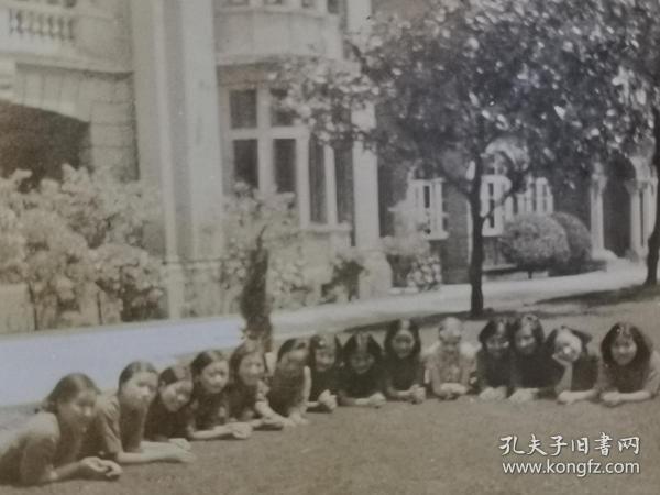 民国美女大学生照片
