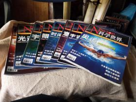科学世界  2012年1--8期
